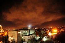 حمله هوایی آمریکا، انگلیس و فرانسه به دمشق