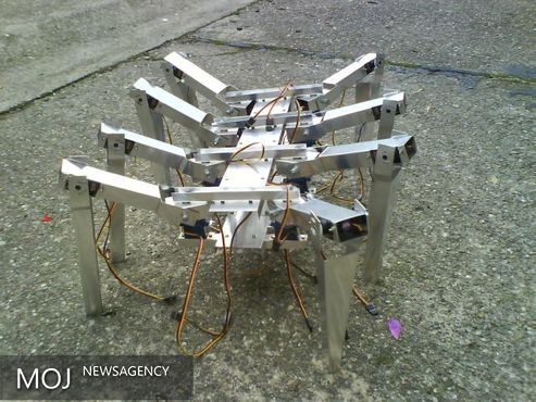 اولین ربات هشت پا ساخته شد