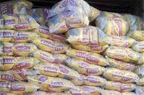 ۱۸ تن برنج فاسد قاچاق در لرستان کشف شد
