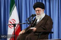 دیدار جمعی از معلمان و دانشجویان دانشگاه فرهنگیان، با رهبر انقلاب اسلامی