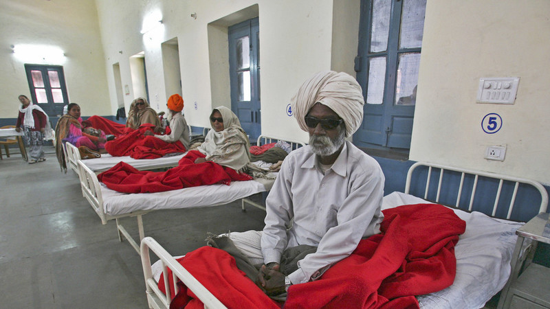 افزایش 300 درصدی شمار مبتلایان به سرطان در هند در طول یک سال