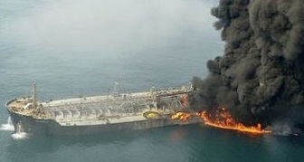 امکان زنده ماندن کارکنان نفتکش وجود دارد