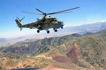سقوط بالگرد ارتش در حمله طالبان در شمال افغانستان