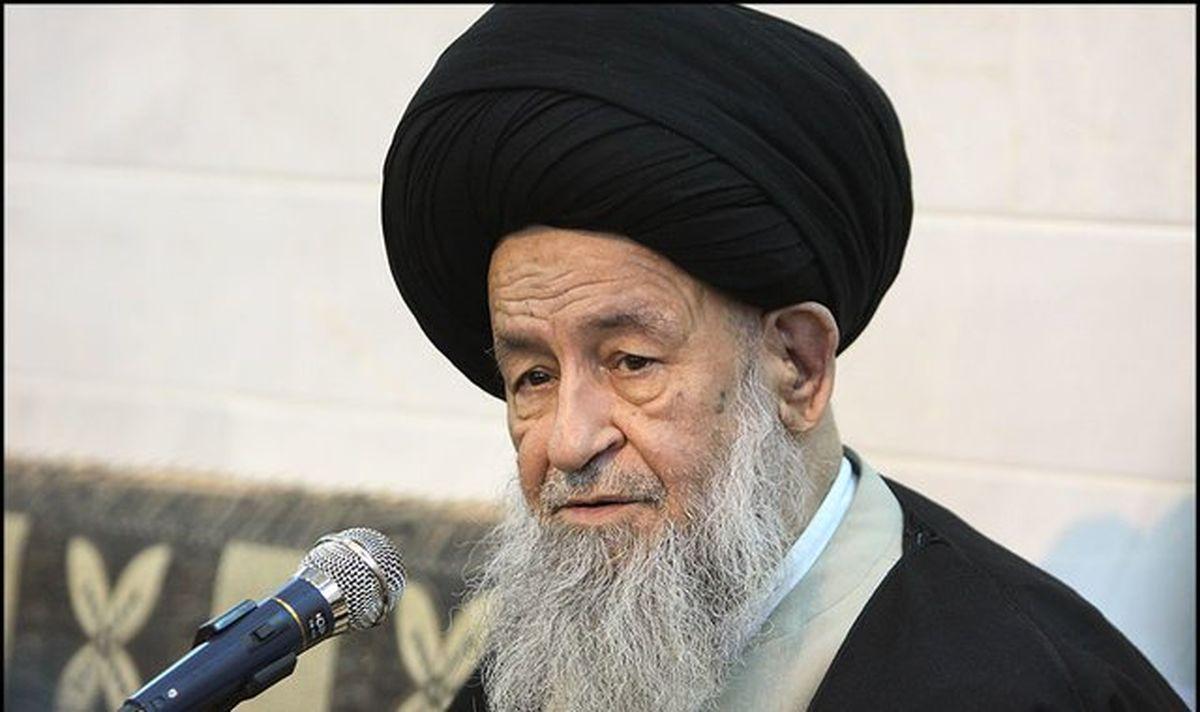 پیام آیت الله علوی گرگانی در پی مشکلات موجود در خوزستان