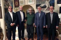 وزیر فرهنگ و ارشاد اسلامی با مسعود کیمیایی دیدار کرد