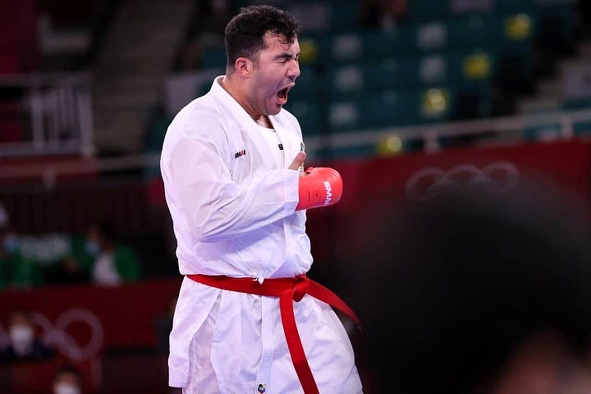 سومین طلای کاروان ایران؛ مدال طلا بر گردن سجاد گنج زاده