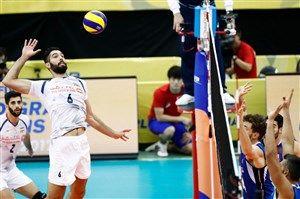تیم ملی والیبال ایران ایتالیا را شکست داد