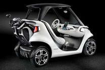 پیشرفته ترین خودروی زمین گلف ساخته شد