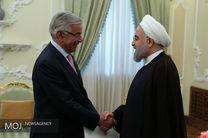 دیدار وزیر خارجه پاکستان با رییس جمهور