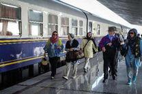 قطار گردشگری روسی وارد اصفهان شد