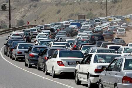 محدودیت های ترافیکی محور هراز امروز 9 فرودین