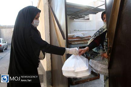 پخت و توزیع روزانه هزار پرس غذای گرم در شهرستان ساوه