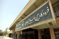 پروازهای فرودگاه آبادان به دلیل گرد و غبار لغو شد