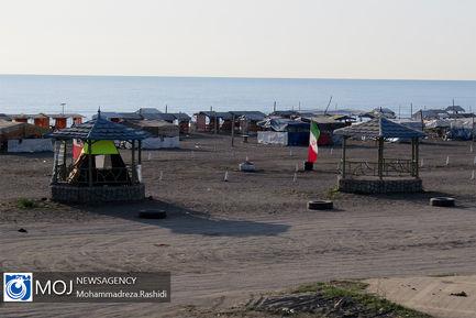 نفس های آخر بازارهای ساحلی آستارا