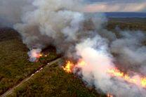 آماده باش برای مهار آتش سوزی جنگل ها در خوزستان