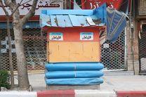 جمع آوری 27 دکه فاقد مدارک و مستندات قانونی از سطح شهر سنندج