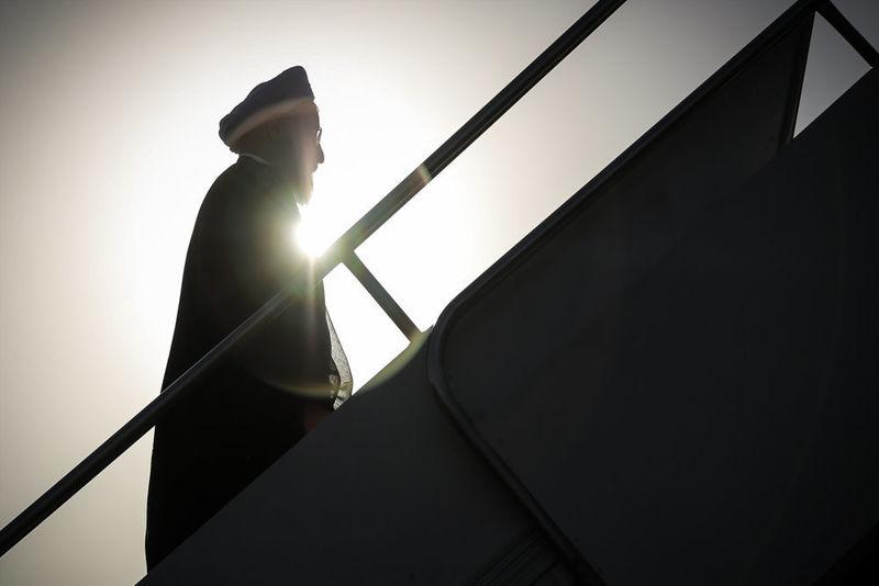 روحانی تهران را به مقصد مسکو ترک کرد