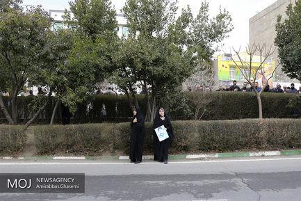 تشییع پیکر شهید مدافع حرم میثم نظری