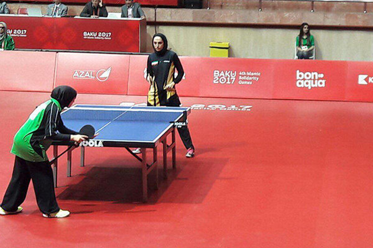 ترکیب آسیایی تیم ملی تنیس روی میز بانوان اعلام شد