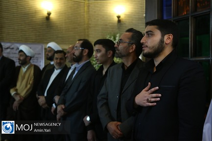 یادبود چهلمین روز درگذشت امام جمعه کازرون