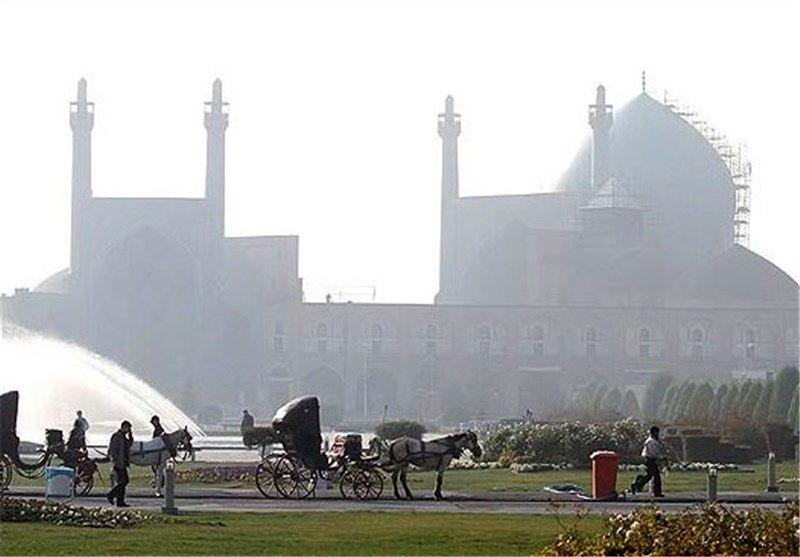 بازگشت  دوباره هوای ناسالم به اصفهان