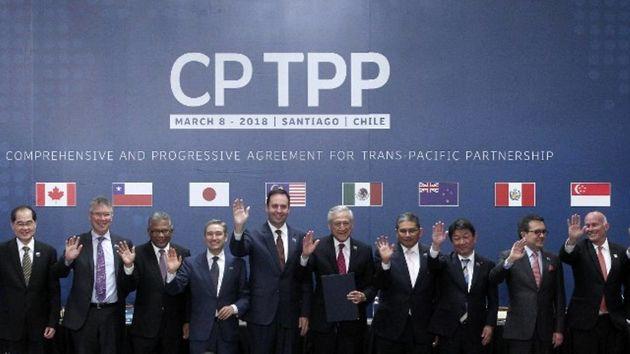 حذف آمریکا از توافق تجاری جدید 11 کشور دو سوی اقیانوس آرام