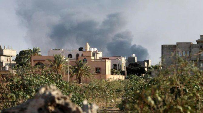 حمله هوایی در طرابس موجب مرگ 4 کودک شد