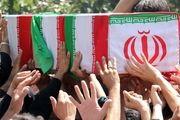 پیکر مطهر 3 شهید دفاع مقدس در اصفهان تشییع شد