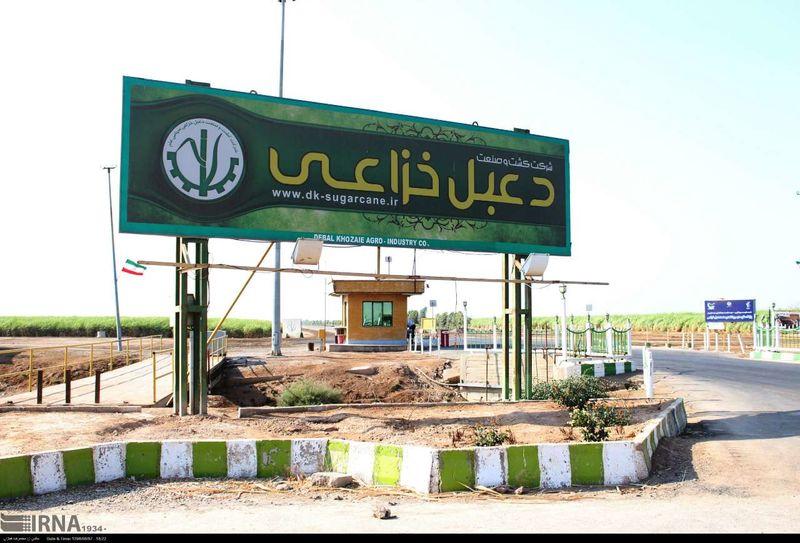شرکت توسعه نیشکر دعبل خزاعی واحد نمونه صنعتی خوزستان شد
