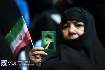 تجمع دختران انقلاب در ورزشگاه شهید شیرودی