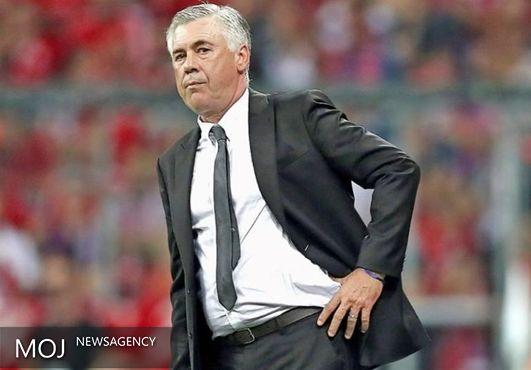 انتقاد آنچلوتی از پررنگ شدن نقش مدیر برنامهها در فوتبال حرفهای