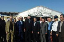 بیمارستان صحرایی ۵۰ تختخوابی در مرز مهران افتتاح شد