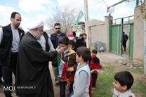 بازدید رییس جمهور از مناطق سیل زده آذربایجان شرقی