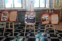 برگزاری نمایشگاه سیری در انقلاب اسلامی در امامزاده هلال بن علی(ع)