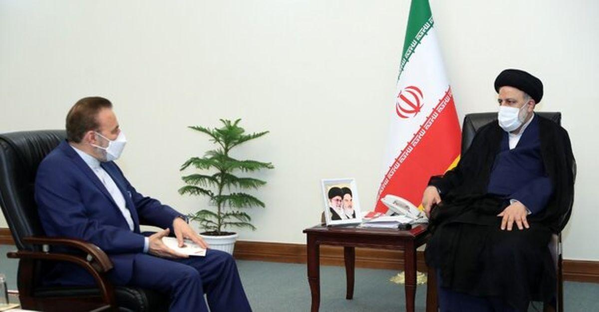 دبیر شورایعالی انقلاب فرهنگی و واعظی با آیت الله رئیسی دیدار کردند