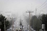 شاخص کیفیت هوای تهران امروز 18 بهمن به 162 رسید