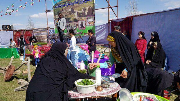 برگزاری جشن نوروزگاهی روستای باباقاسم