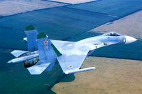 جنگنده های چینی بر فراز دریای جنوبی