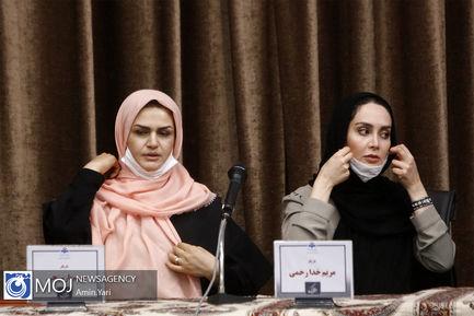 نشست خبری عوامل سریال دخترم نرگس