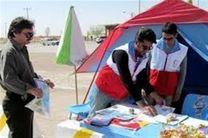 بیش از 4 هزار نفر در کمپهای هلال احمر استان همدان اسکان یافتند