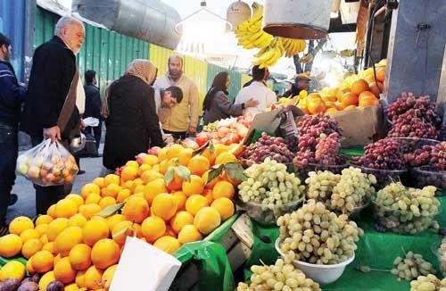 قیمت عمده فروشی انوع میوه و سبزی اعلام شد