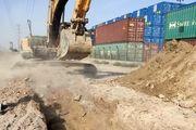 اجرای پروژه زمینی کردن خط 63 کیلو ولت بندر شهید رجایی