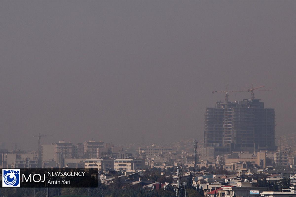 کیفیت هوای تهران ۲۰ آبان ۹۹/ شاخص کیفیت هوا به ۱۱۵ رسید