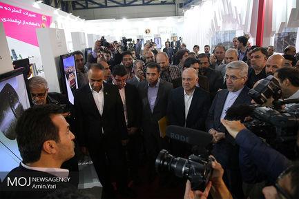 افتتاح هجدهمین نمایشگاه بین المللی صنعت برق