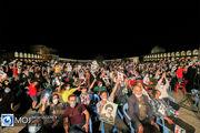 جشن پیروزی هواداران سید ابراهیم رئیسی در شب میلاد امام رضا (ع)