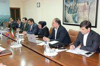 دیدار رئیس کل بیمه مرکزی و هیات همراه با معاون وزیر زیر ساختهای انرژی و منابع طبیعی ارمنستان