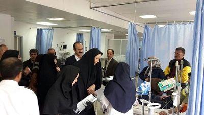 تشدید نظارت شبانه روزی بر بیمارستان ها و مراکز درمانی استان گیلان