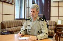 وزیر دفاع پایان کار داعش را تبریک گفت