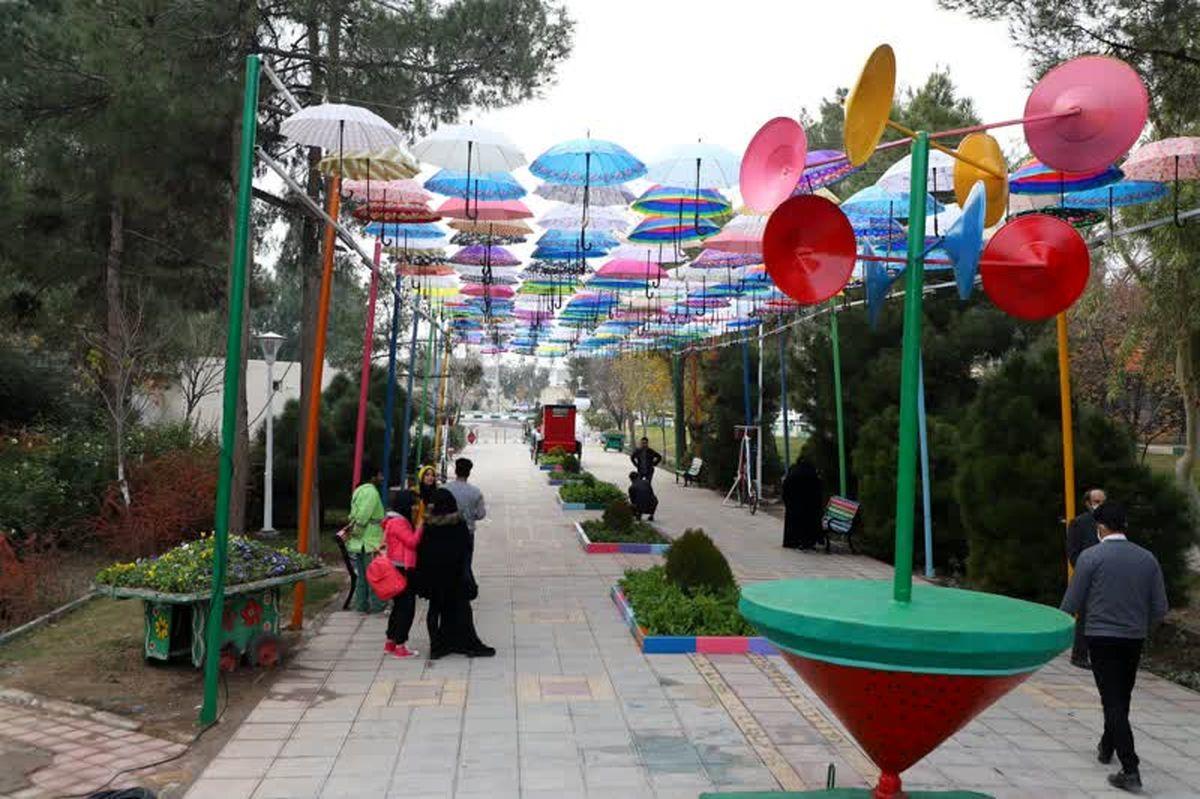 راه اندازی کوچه چتری بوستان بنیادی