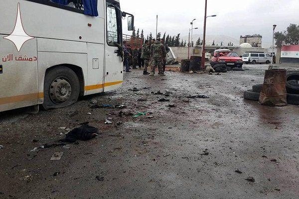 انفجار تروریستی در حمص 11 کشته و زخمی بر جا گذاشت